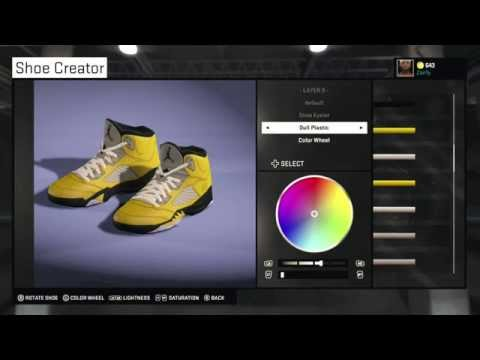 NBA 2K15 Shoe Creator - Air Jordan 5
