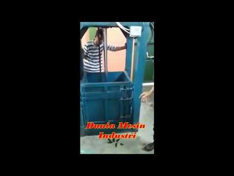 Mesin Press Plastik Bekas Sistem Hidrolik (Mesin Daur Ulang)