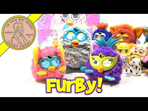 Furby Fussby Party Rockers. 2013 Hasbro Toys - Party Time Fun!