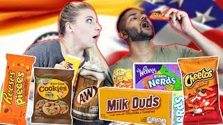 My Indian Boyfriend Tries American Snacks
