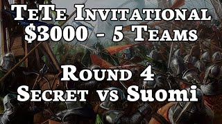 R4 Team Secret vs Suomi | TeTe Invitational $3000