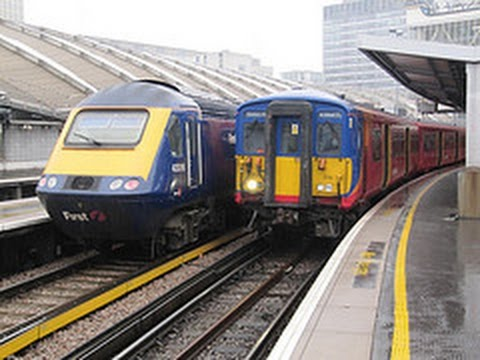 Diverted First Great Western HST's over the South West Trains Region December 2010