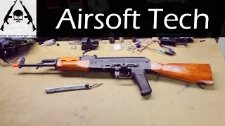 Airsoft Tech: From Stock Junk to Killer AK-47 (AEG)