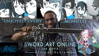 MOVIE REVIEW For SWORD ART ONLINE: ORDINAL SCALE (2017)