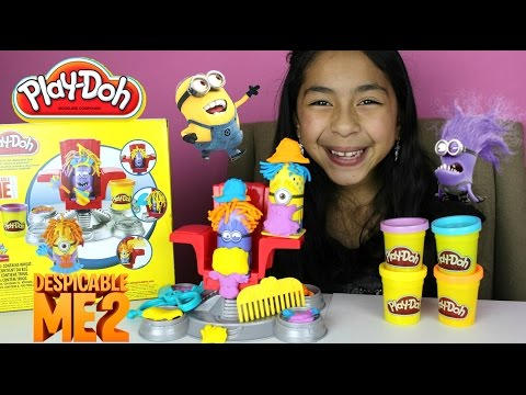 Tuesday Play Doh Despicable Me Minion Disguise Lab| Labo Transformation video