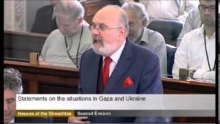 "Senator David Norris Blasts Israel: ""NAZI TALK!"""