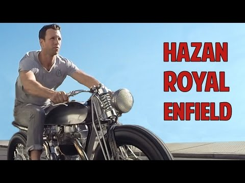 Custom Royal Enfield Bullet 500 by Hazan Motorworks