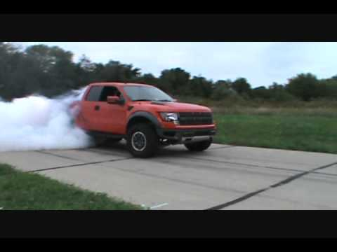 Ford Raptor Burnout