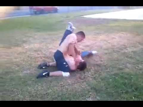 Willie G. Street Fight Rear Naked Choke out!! Image 1