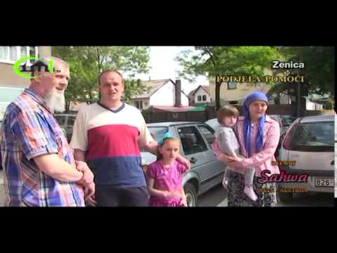 Džemat sahwa Wels Iz Austrije - Donacia Hrane I Finansijskih Sredstava Stanovništvu Bih video