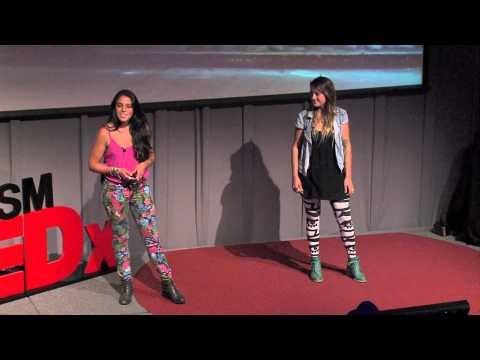 ESTANPINTANDO en 3 pasos: Trinidad Guzmán & Constanza Larenas at TEDxUTFSM