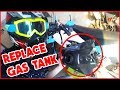 How To: Replace Gas Tank on a Pitbike (50cc, 110cc, 125cc, etc...)