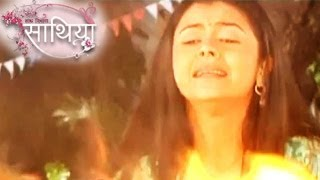 Gopi TO FIGHT With FIRE in Ahem & Gopi's Saath Nibhana Saathiya 28th March 2014 FULL EPISODE