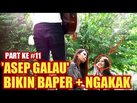 Download AWALNYA DI TERTAWAKAN, AKHIRNYA PENGAMEN GALAU INI BIKIN BAPER ASEP GALAU Mp4 baru