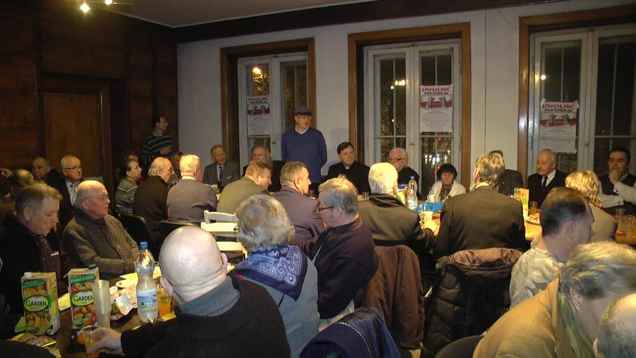 Spotkanie opozycjonistów