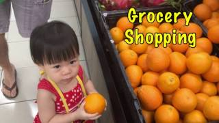 GOOD BABY GROCERY Shopping | LEARNING FRUITS | ACTIVITY for Children, Toddler and Babies
