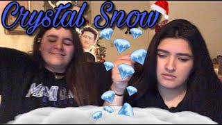BTS 'CRYSTAL SNOW' REACTION | KMREACTS