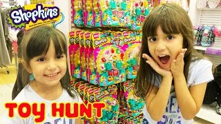 SHOPKINS TOY HUNT at Target and Toys R Us - SHOPKINS SPREE!