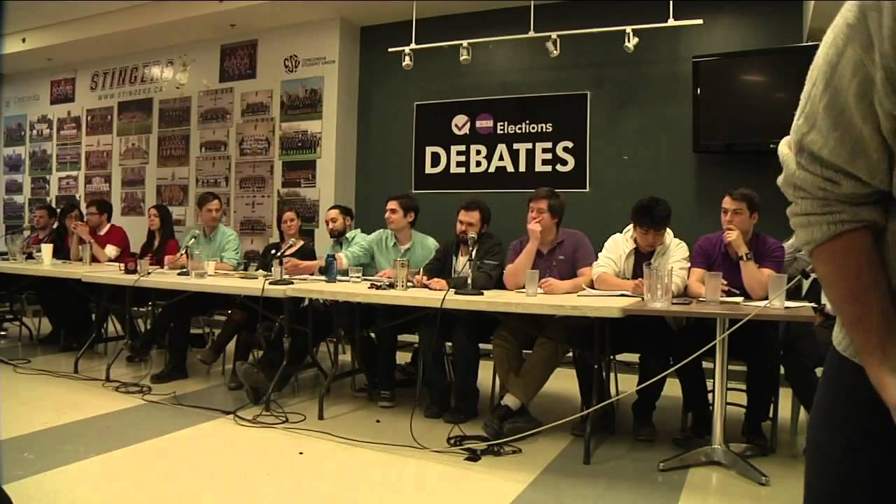 The 2014 CSU Electoral Debate