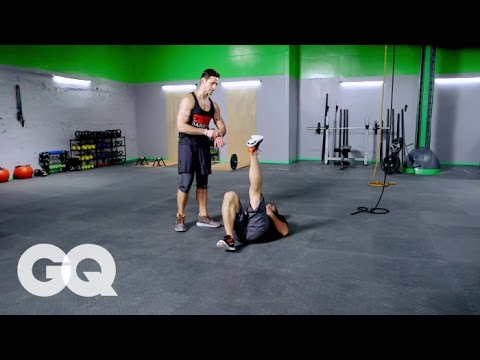BOOT CAMP: Lower Body Workout -- GQ's Fighting Weight Series