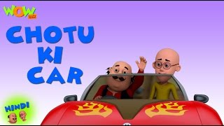 Choti Ki Car- Motu Patlu in Hindi - 3D Animation Cartoon -As on Nickelodeon