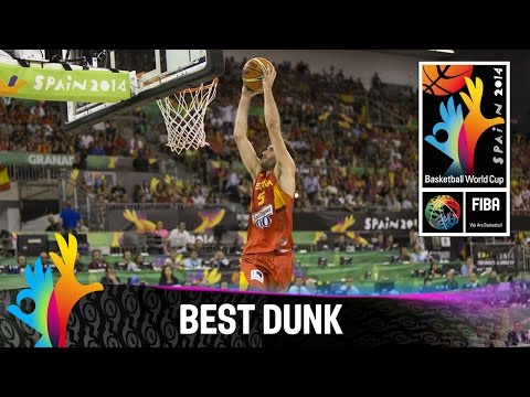 Iran v Spain - Best Dunk - 2014 FIBA Basketball World Cup