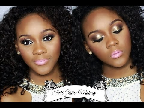 Fall Glitter Makeup Tutorial