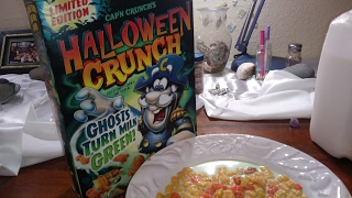 LIMITED EDITION DISCONTINUED GENETICALLY MODIFIED QUAKER OATS CAPTAIN CRUNCH CEREAL