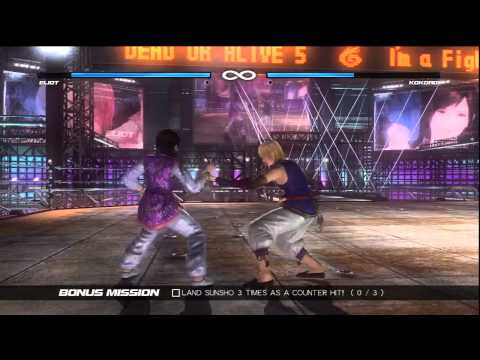 Dead Or Alive 5 - Story Mode Part 6
