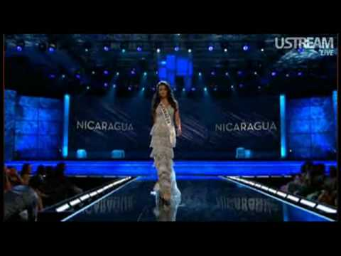 Nicaragua - Miss Universe 2009 Presentation - Evening Gown