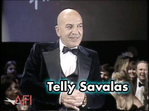 Telly Savalas Salutes Frank Capra at AFI Life Achievement Award