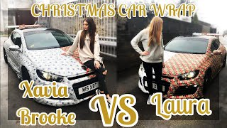 Christmas Car Wrap Challenge