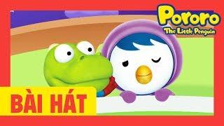 Mười em nhỏ chơi trên giường   Ten In The Bed   Pororo vần điệu trẻ   trẻ em bài hát   Pororo