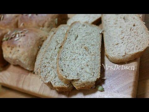 Resep Roti Gandum,Wheat Bread.