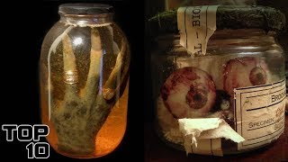 Top 10 Scary Preserved Body Parts