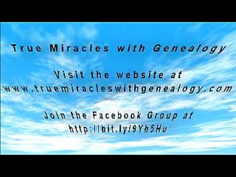 Trailer ~ True Miracles with Genealogy: Volume One by Anne Bradshaw