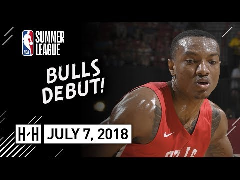 Wendell Carter Jr Full Bulls Debut Highlights vs Cavaliers (2018.07.07) Summer League - 16 Pts