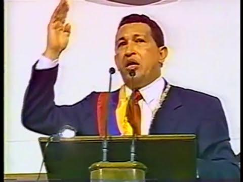 Discurso Chávez 1ª sesión Asamblea Nacional Constituyente de Venezuela (5/8/1999)