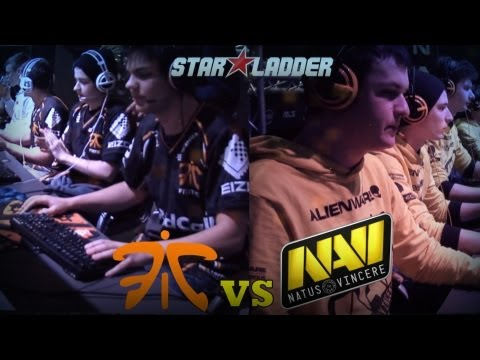 Day One: Na`Vi vs Fnatic @ StarLadder S4