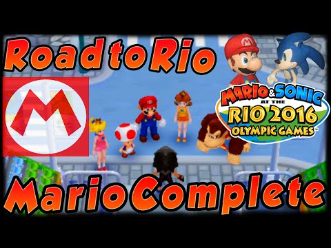 ABM: Mario & Sonic Rio 2016 Olympic Games!! Road To Rio!! FINALE!! (3DS) HD