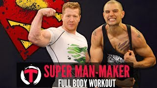 [TRAINING] - Superman-Maker Power Circuit With Peter (Henry Cavill's - Justice League Workout)