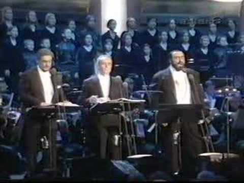 Pavarotti Domingo Carreras - Happy Christmas/War Is Over