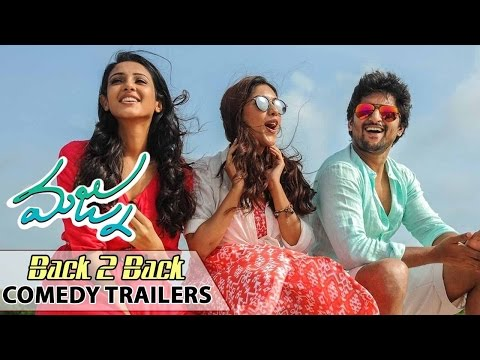 Majnu Movie || Back to Back Comedy Trailers || 2016 Latest Movie Trailer || Nani, Anu, Priya Shri