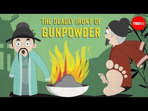 The deadly irony of gunpowder - Eric Rosado