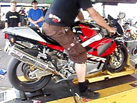 VTR SP2 1000 on Dyno test