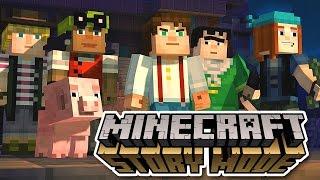 Minecraft Story Mode Ep.1 #2 : Đánh zombie, bị lừa !! [Vietsub]