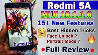 Redmi 5A MIUI 10.1.1.0 Stable Update Full Review | 15 New Hidden Features Tips & Tricks Camera