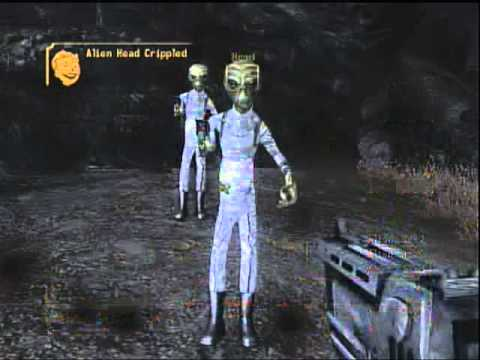 Fallout New Vegas: Alien Blaster Location