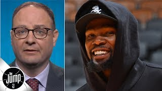 Woj explains why Kevin Durant is teaming up with Kyrie Irving, DeAndre Jordan on the Nets | The Jump