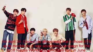 Kpop News _BTS Chosen As Models For New Coca-Cola Campaign